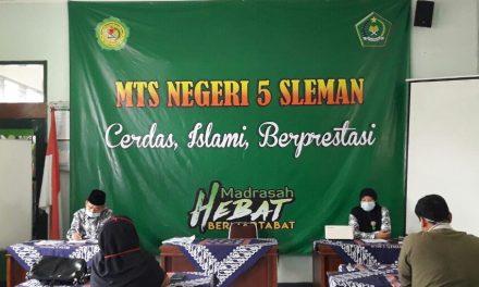 Mantapkan Kegiatan Tahfidz, MTsN 5 Sleman Gelar Rakor