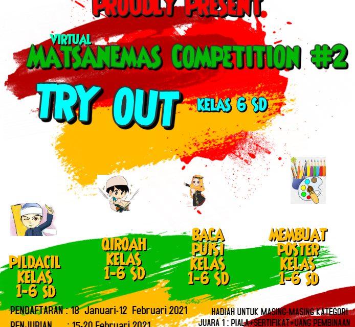 Matsanemas Competition #2 MTsN 5 Sleman Banjir Peserta
